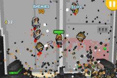 free iPhone app Rocket Riot HD