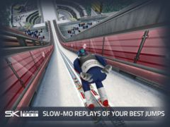 free iPhone app Ski Jumping Pro