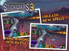 free iPhone app StickWars 3