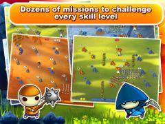 free iPhone app Mushroom Wars