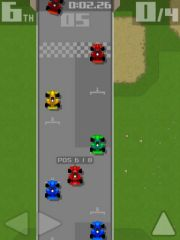 free iPhone app Retro Racing