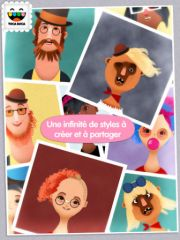 free iPhone app Toca Hair Salon 2