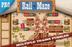 free iPhone app Rail Maze Pro