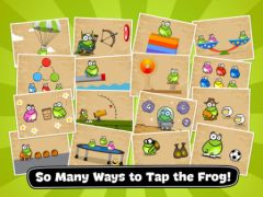 free iPhone app Tap the Frog: Doodle HD