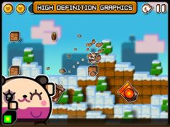 free iPhone app Land-a Panda HD