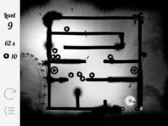 free iPhone app Gravity Maze