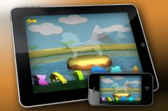 free iPhone app My First 3D Puzzle: Animals