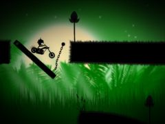 free iPhone app Stick Stunt Biker 2