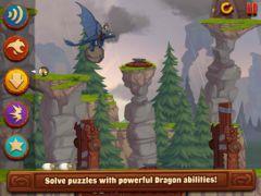 free iPhone app DreamWorks Dragons: TapDragonDrop