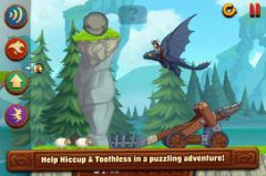free iPhone app DreamWorks Dragons: TapDragonDrop