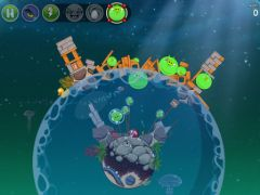 free iPhone app Angry Birds Space HD