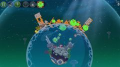 free iPhone app Angry Birds Space