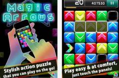 free iPhone app Magic Arrows