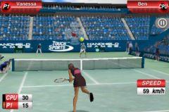 free iPhone app TouchSports Tennis