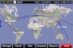 free iPhone app AirTycoon - Airline Management