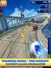 free iPhone app Sonic Dash