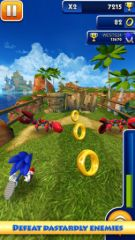 free iPhone app Sonic Dash