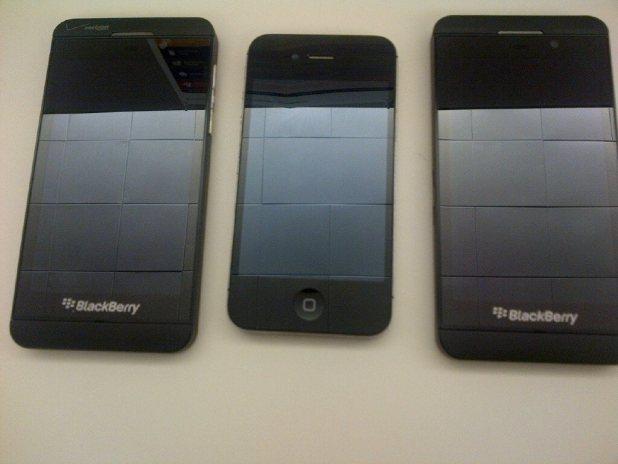 Attendus en 2013 blackberry z10 et galaxy s4 venir for Photo ecran blackberry z10