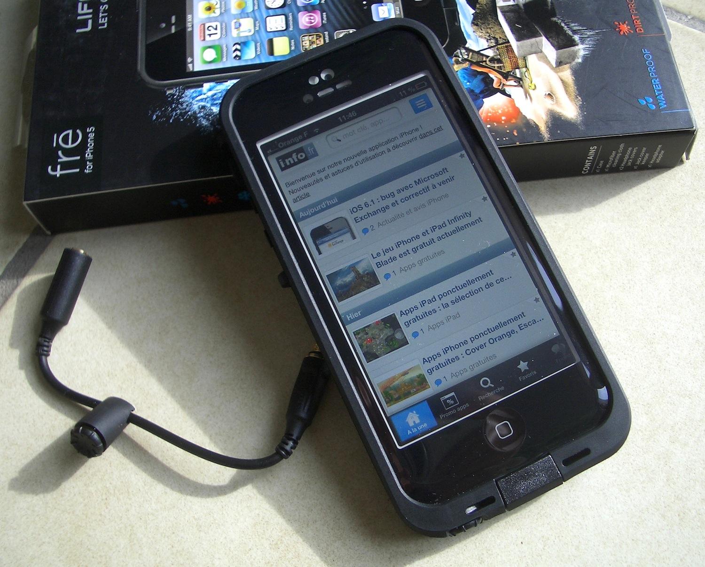 coque devant iphone 5