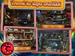 free iPhone app Hidden Object: Toy house