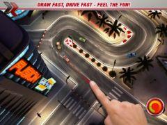 free iPhone app DrawRace 2 HD