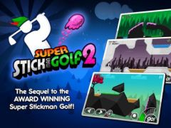 free iPhone app Super Stickman Golf 2