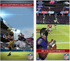 free iPhone app NFL Quarterback 13