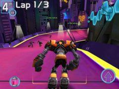free iPhone app Robot Race