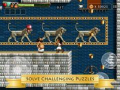 free iPhone app Babylonian Twins Puzzle Platform Game