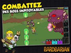 free iPhone app Bardbarian
