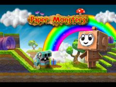 free iPhone app Paper Monsters