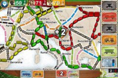 free iPhone app Ticket to Ride Europe Pocket