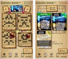 free iPhone app Big Bad Sudoku Book