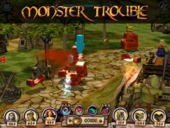 free iPhone app Monster Trouble Anniversary Edition