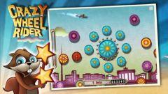 free iPhone app Crazy Wheel Rider HD