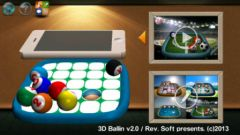 free iPhone app 3D Ballin (Preview)