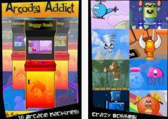 free iPhone app Arcade Addict