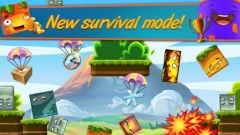 free iPhone app Happy Hills 2: Bombs Away!