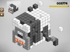 free iPhone app Cubic Block