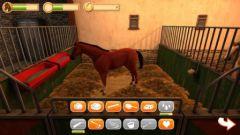 free iPhone app HorseWorld 3D: Mon amour de cheval