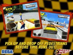 free iPhone app Crazy Taxi