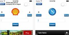 free iPhone app Spot the Logo