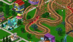 free iPhone app RollerCoaster Tycoon 4 Mobile