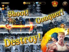 free iPhone app Gryzor (Contra): EvolutionHD