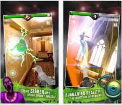 free iPhone app Ghostbusters Paranormal Blast