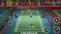 free iPhone app Super Badminton
