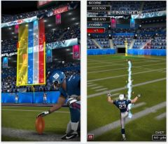free iPhone app NFL Kicker 13