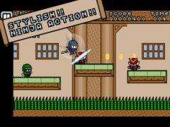 free iPhone app Ninja Striker