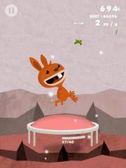 free iPhone app Bouncy! Trampoline