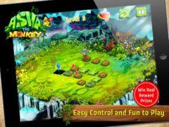 free iPhone app Asva The Monkey HD